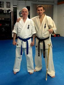 Sensei Steve Fogarasi and Myself