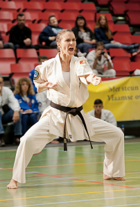 IFK Karate Practitioner