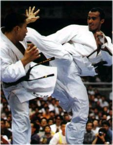kazumi and filho 7th World Open Tournament 1999