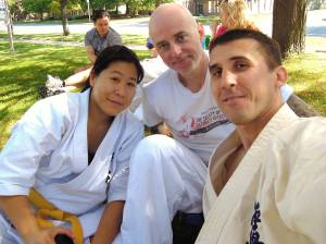 Contact Kicks Dojo at Shihan Gilbert Seminar