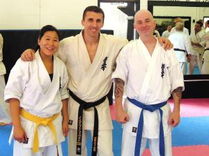 At the Shihan Gilbert Seminar