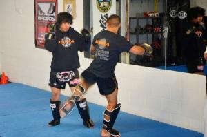 CKMA Kickboxing Demo