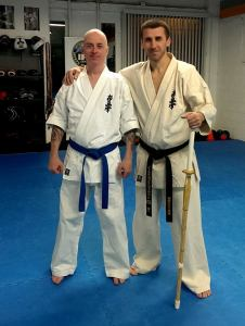 with Sensei Fogarasi